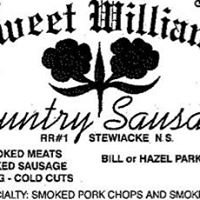 Sweet William's Country Sausage