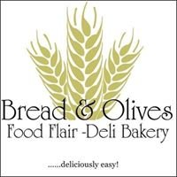 Bread and Olives Food Flair