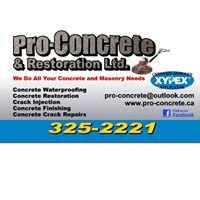 Pro-Concrete & Restoration LTD