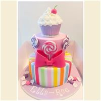 Sugar Sparkle Cupcakes