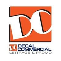 Lettrage DC - Decal Commercial
