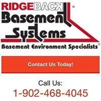 Ridgeback Basement Systems