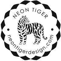 Neon Tiger Design
