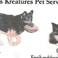 God's Kreatures Pet Services