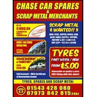 CHASE Car Spares & Metal Recycling