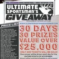 Ultimate Sportsman's Giveaway