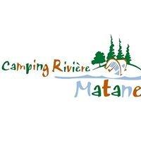 Camping de la rivière Matane