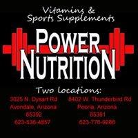 Power Nutrition - Avondale, AZ Vitamins & Sports Supplements