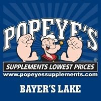 Popeye's Supplements Bayer's Lake
