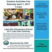 UAA Creative Activities Fair