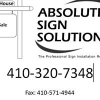 Absolute Sign Solutions LLC
