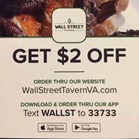 Wall Street Tavern, Roanoke