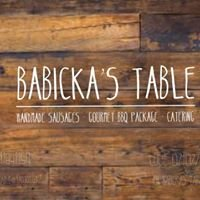 Babickas Table