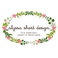 Alyssa Short Design
