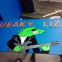 The Squeaky Lizard