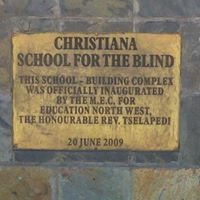 Christiana school for the Blind