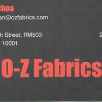 O-Z Fabrics Inc