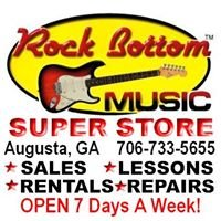 Rock Bottom Music & Sound Super Store