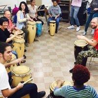Hunter College Haitian Drumming Workshop