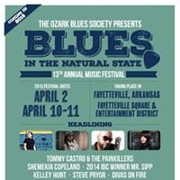 2015 Blues in the Natural State Music Festival