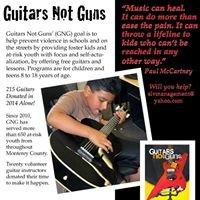Guitars not Guns Monterey County