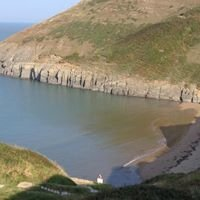 Holiday in Mwnt