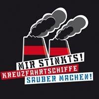 """Kampagne """"MIR Stinkts! Kreuzfahrtschiffe sauber machen!"""""""