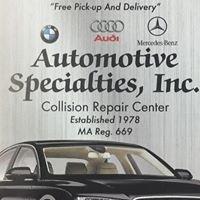 Automotive Specialties Inc.