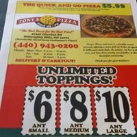 Tony's Pizza and More