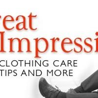 Great Impressions: Clothing Care Tips and More
