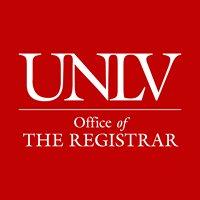 UNLV Office of the Registrar