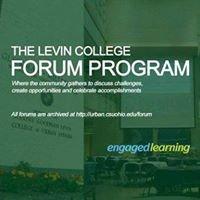 Levin College Forum
