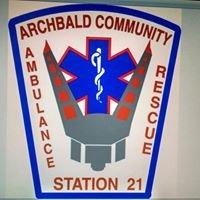 Archbald Community Ambulance and Rescue Squad