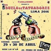 Convencion Nacional de Tatuajes Lima Perú