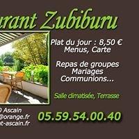 Restaurant Zubiburu
