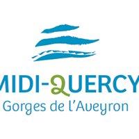 Tourisme en Midi-Quercy Gorges de l'Aveyron