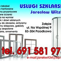 Usługi szklarskie Jarosław witzling Załęże