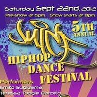 The Fifth Annual  J.U.i.C.E Hip Hop Dance Festival Sep. 22nd 8PM