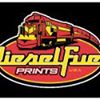 Diesel Fuel Prints