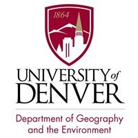 University of Denver, Department of Geography and the Environment