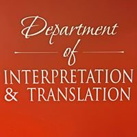 Gallaudet University Department of Interpretation & Translation