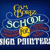 Cam Bortz School for Sign Painting