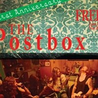 The Post Box Printed GigGuide for Tbar