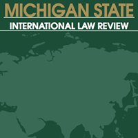 Michigan State International Law Review