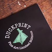 Duck Print Fine Art Limited Editions