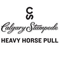 Heavy Horse Pull at the Calgary Stampede