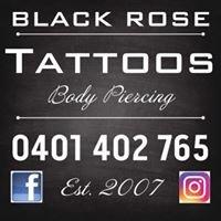 Black Rose Tattoos Ballina