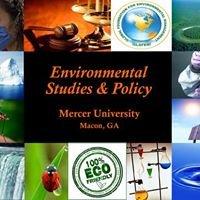 Environmental Studies and Policy at Mercer University