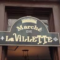Bistro Marché De La Villette!