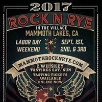 Mammoth Rock N Rye